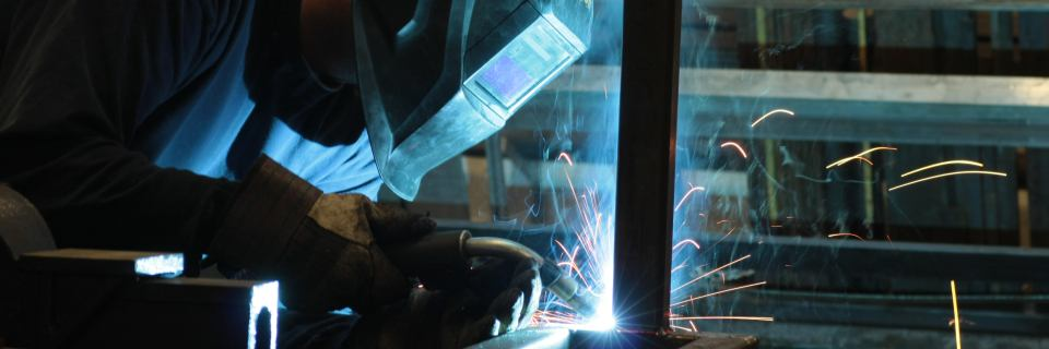 Photography for Quality Services website. Welding.